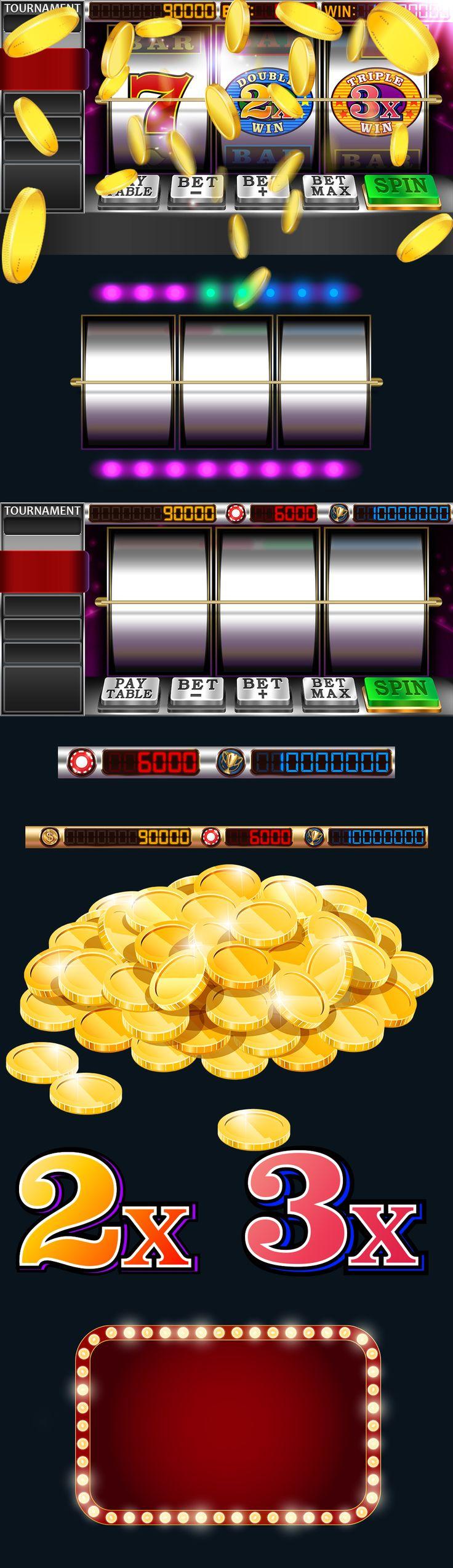 Slot game design on Behance