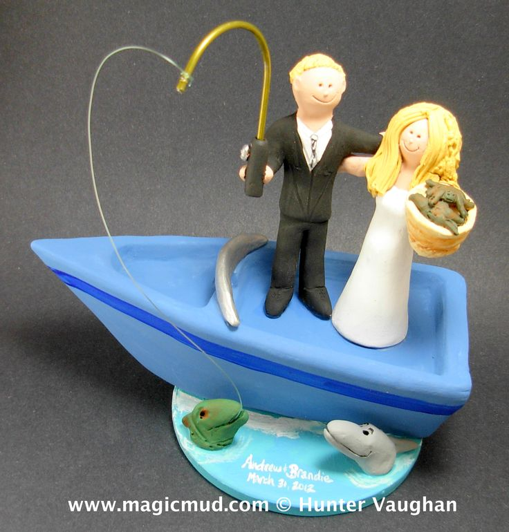boat wedding cake topper 82 best images about fishing catch weddings 1991