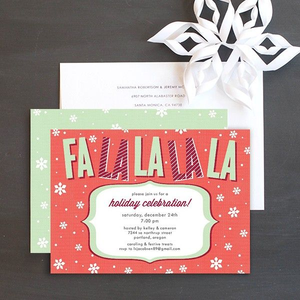 55 best Christmas Party Invitations images on Pinterest - invitation for a get together