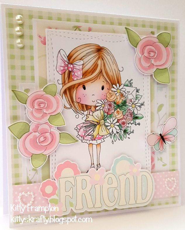 Making Cards Magazine Part - 38: Made For Making Cards Magazine Using Polkadoodles Sugar Sprinkles  Springtime Winnie Collection.