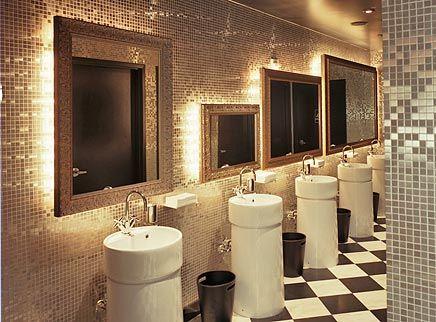 39 best images about phl barclay prime on pinterest for Restroom design restaurant