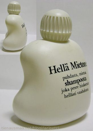 Childhood memories from Finland. Mild and mildly scented shampoo for sensitive skin | Hellä Mietonen shampoo