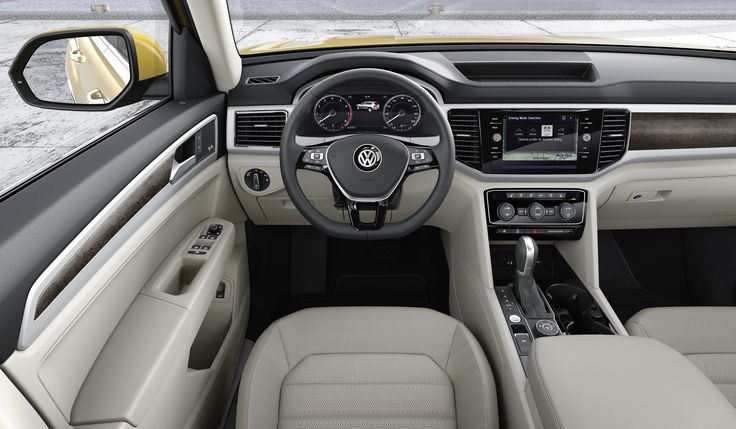 Volkswagen Atlas – światowa premiera nowego, 7-miejscowego SUV-a na rynek amerykański. #volkswagen #volkswagenatlas #vwatlas #cars #volkswagenpremiere #volkswagenusa #samochody #VW