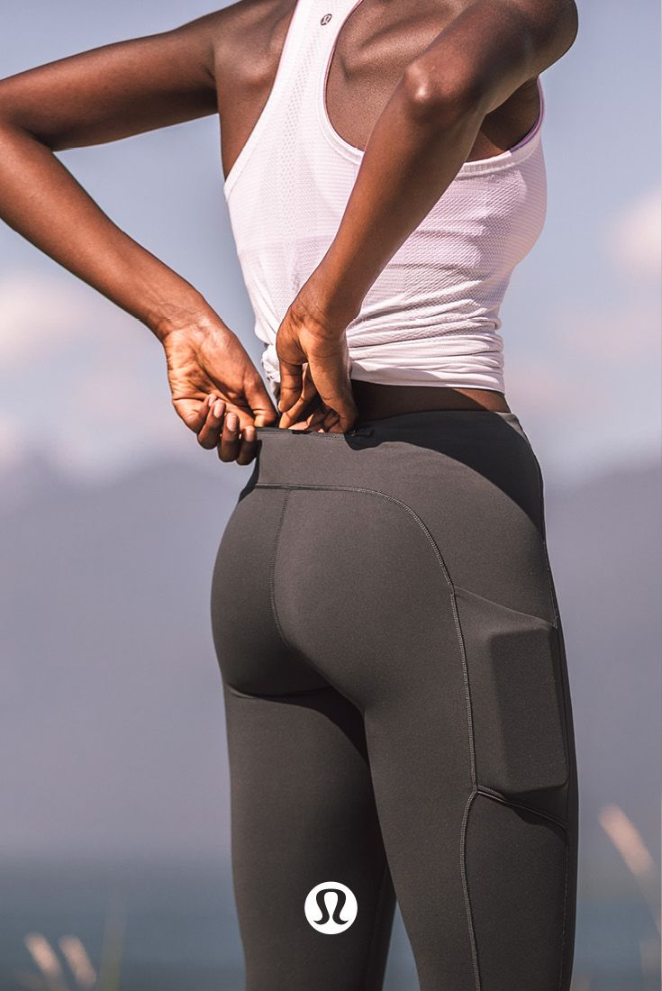 Speed up to slow down. These leggings will take you places.