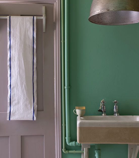 Farrow & Ball Dove Tale -- Farrow & Ball loves how this colour can look grey and at other times appear more stony.