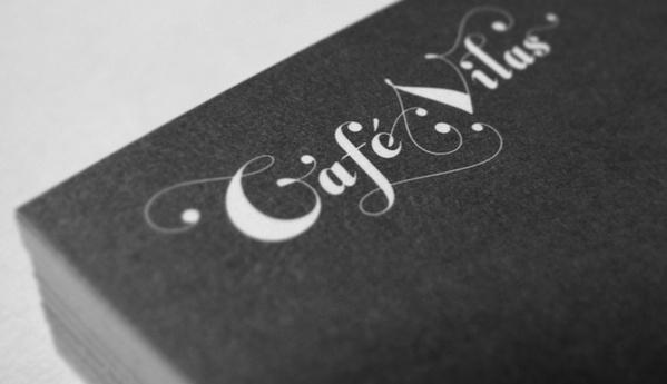 Café Vilas #logodesign #lettering #identity