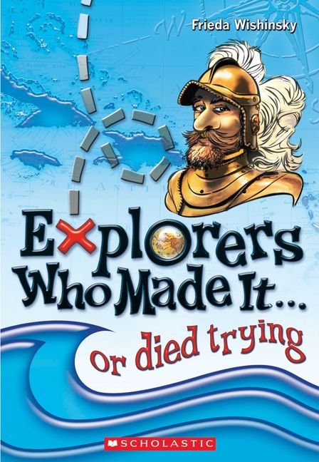 This is a fun book to learn about important explorers over time! Students might not know a lot of these people so it is neat to introduce new people to their learning.