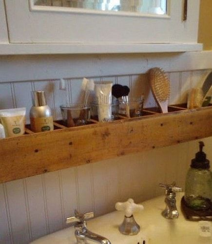 20+ Genius Wood Pallet Bathroom Decoration Ideas That You Must Have