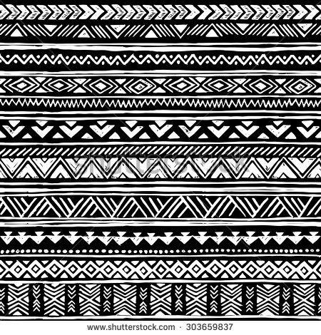 black and white tribal navajo seamless pattern aztec geometric print ethnic hipster backdrop. Black Bedroom Furniture Sets. Home Design Ideas