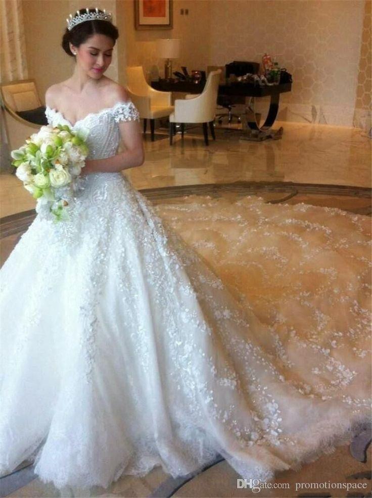 3892 best Tenues de mariage images on Pinterest   Wedding dressses ...