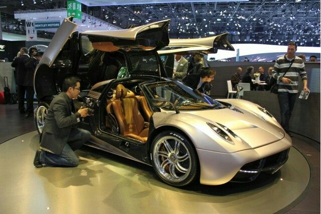 Pagani Huayra. Not too keen on the exterior. BUT...fell in love with the interior before even knowing the make or model.