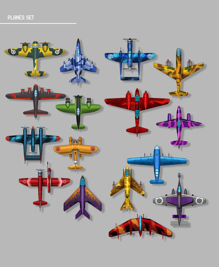 Behance airplane game concept and assets   – aviao