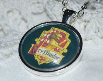 Harry Potter Inspired Gryffindor House Necklace