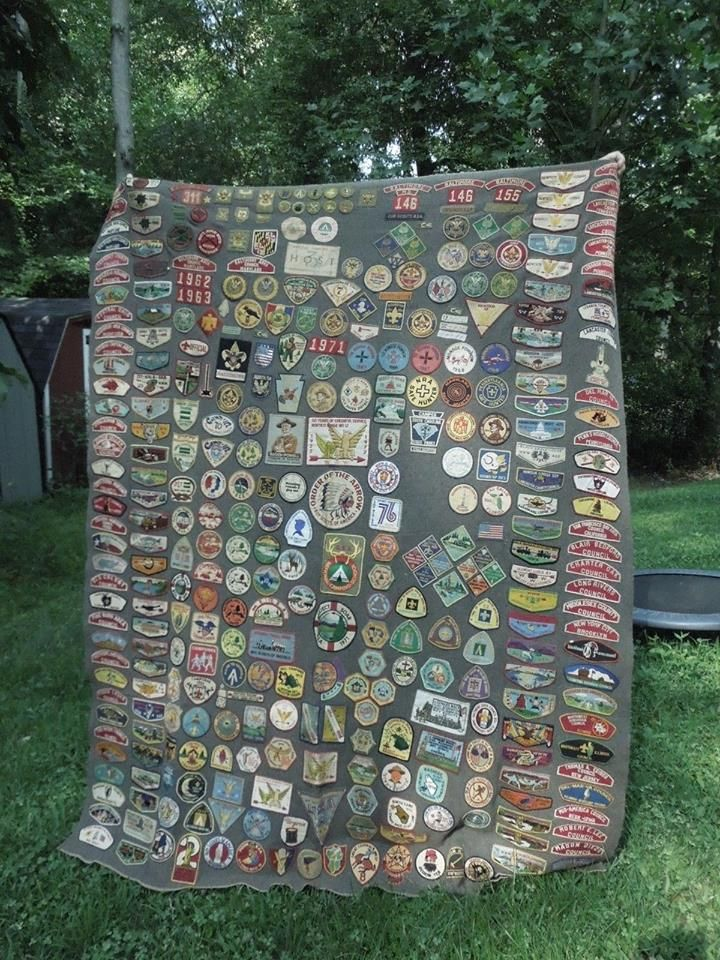This campfire blanket sold for over $2,000 on eBay.  You would need a magnifying glass to find the good ones but I'm guessing this blanket is full of them.