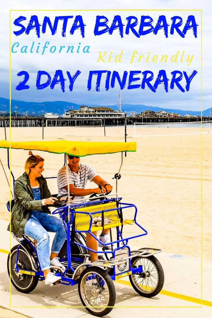 Santa Barbara is a beautiful coastal town just 2 hours drive from Los Angeles. We offer a 2 day itinerary to explore some of the best attractions around Santa Barbara.