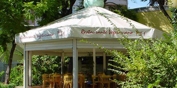 Restaurante vegetariano Psi, em Lisboa