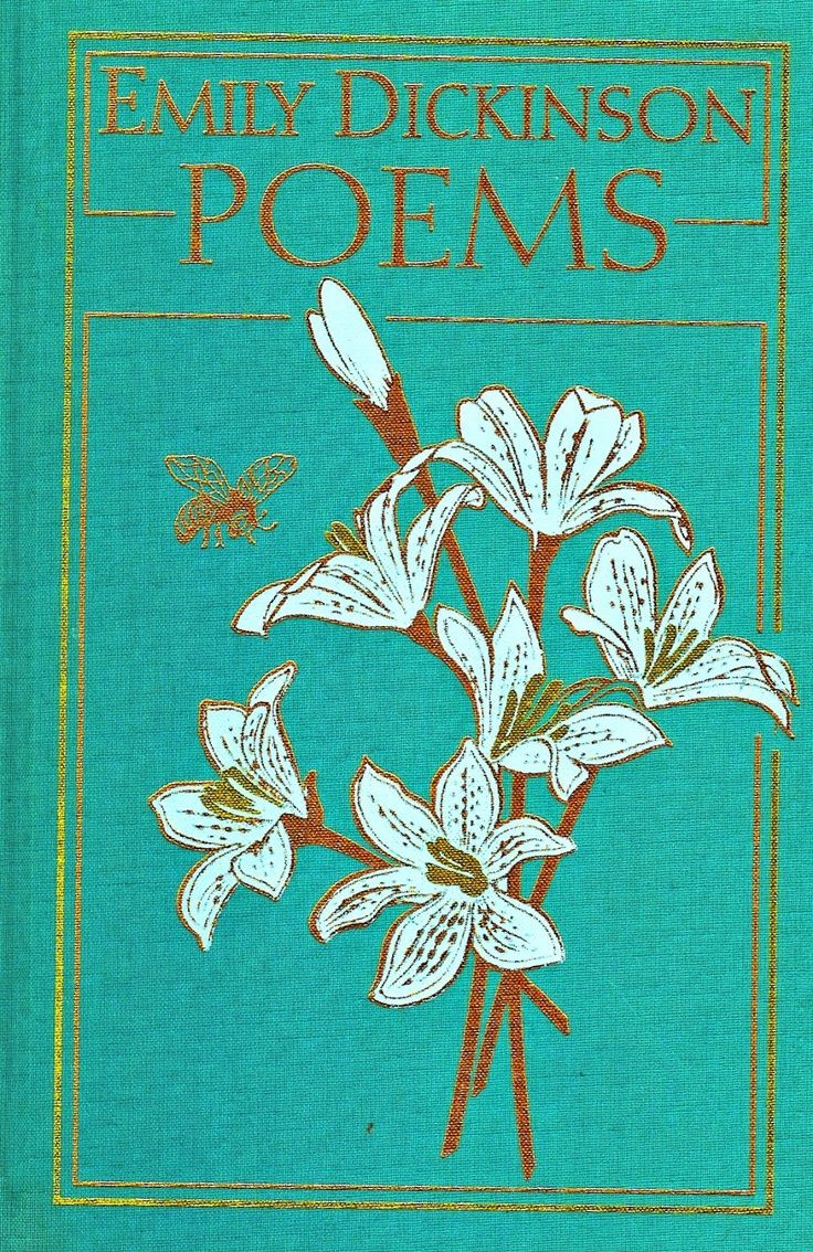 Dickensons color caste denomination - Antique Edition Of Poetry By Emily Dickinson Another Gorgeous Book For Reading And Lit Display