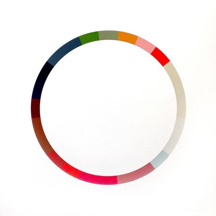 Sophie Smallhorn - Colour Wheel 6 on www.eyestorm.com