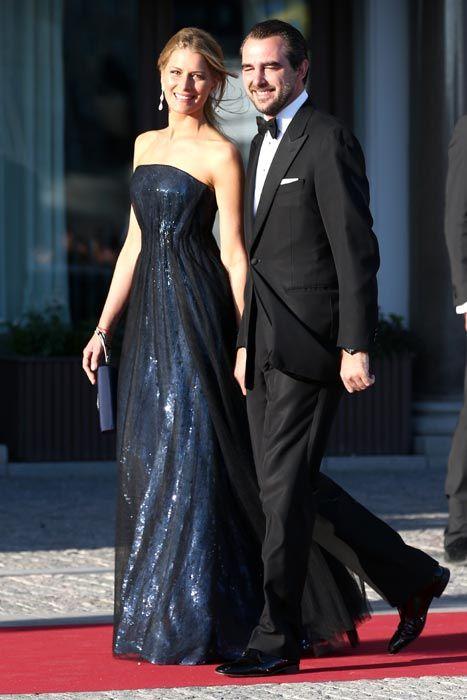 Princess Tatiana and Prince Nicholaos of Greece - The European royals' fashion at the pre-wedding dinner - Photo 1   Celebrity news in hellomagazine.com