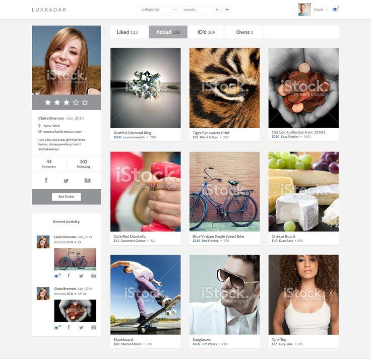 Luxradar #SocialMedia #Flat #WebDesign by #YellowDNA