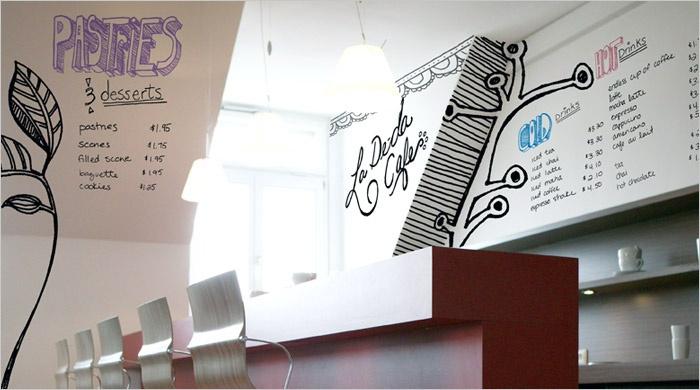 whiteboard verf met beschrijfbare muren en wanden dankzij de speciale gekleurde stiften