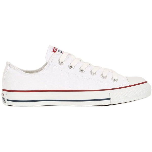 CONVERSE Chuck Taylor All Star Ox Canvas Sneakers - White found on Polyvore