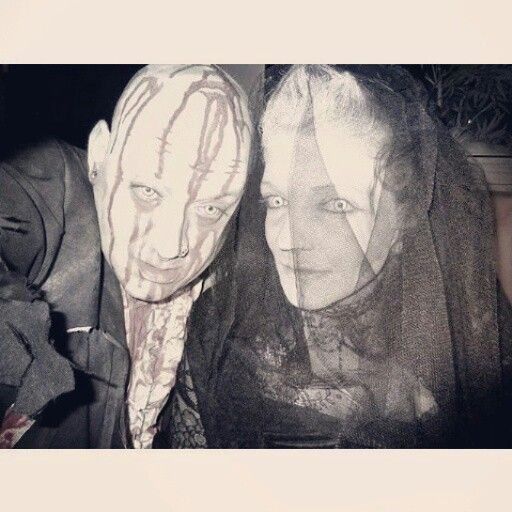 Ghost bride and groom