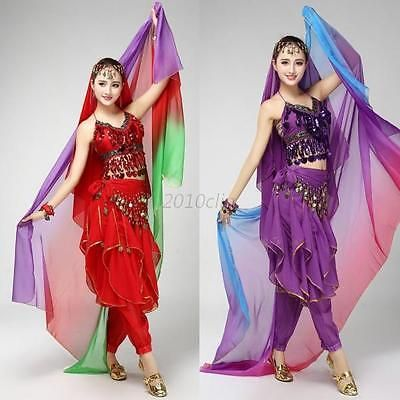 New gradient belly #dance veil shawl face #scarf bollywood indian #dance #costume ,  View more on the LINK: http://www.zeppy.io/product/gb/2/272384812500/