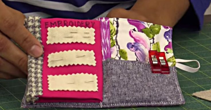 Keep Your Needles In One Handy Place With This Cute Needle Book!