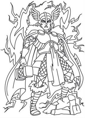 Norse mythology coloring pages for adults coloring pages for Norse mythology coloring pages