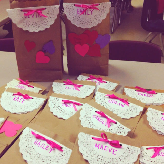 Valentines Day Goodie Bag K I D C R A F T Pinterest