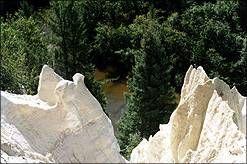 Nipekamew Sand Cliffs - located approximately 45 minutes southeast of La Ronge, #Saskatchewan