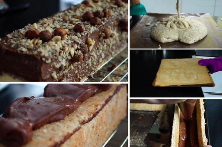Bûche de Noël chocolat vanille digne des plus grandes pâtisseries