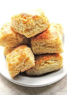 This Buttermilk Biscuits Recipe makes the perfect fluffy biscuit to enjoy with any meal.