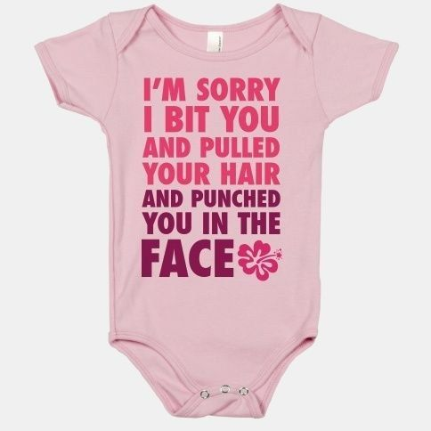 Just being polite. | 51 Onesies Your Baby Needs In Their Life