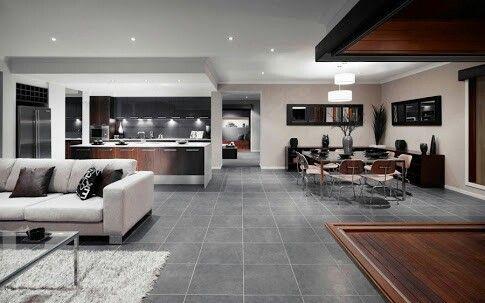 kitchen/dining/ entertaining area. First floor