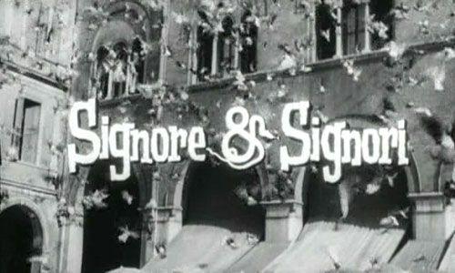 """Film - """"Signore e Signori"""" girato a Treviso."""