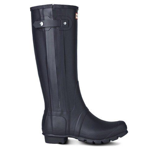 Slim Zip - Textured - Navy – Hunter Boots Australia