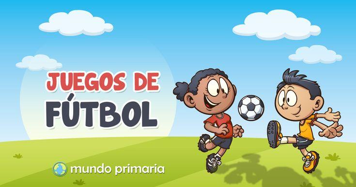¿Te gusta el fútbol, te gustan los juegos, estás en Primaria? Aquí tienes los mejores juegos de fútbol para niños y niñas de Primaria. Además son gratis