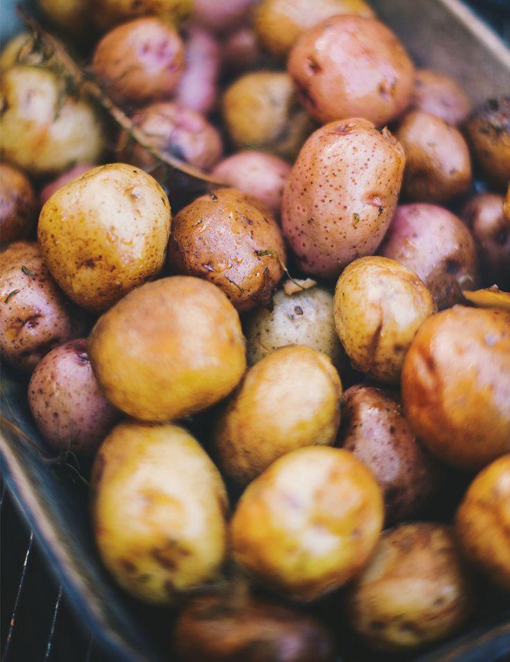 Patates fumées à l'érable et au romarin / lecoupdegrace.ca