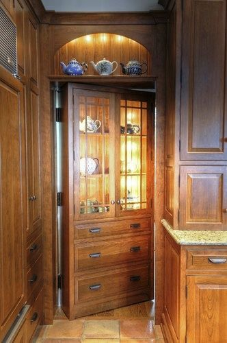 Secret Pantry Door In Kitchen Home Views In 2019