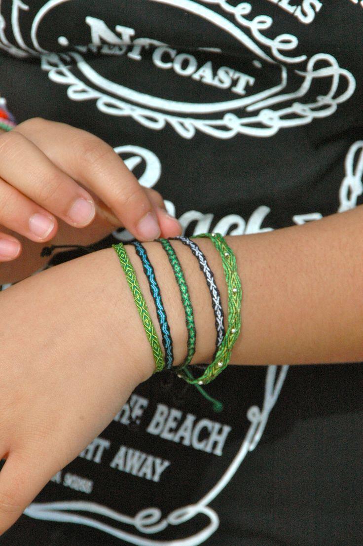 pulseras telar egipcio handmade from colombia...@ipuanabarcelona
