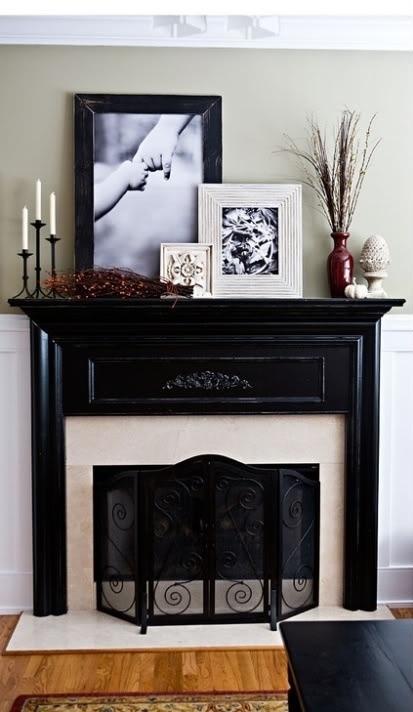 1000 Images About House Mantle Decor Ideas On Pinterest