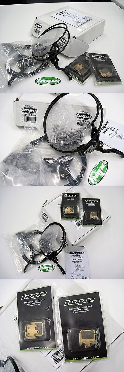 Vintage Bicycle Parts 56197: Hope Stealth Race Evo X2 Front And Rear Brake W Ti Hardware -> BUY IT NOW ONLY: $300 on eBay!