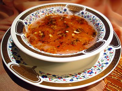 Tarhana corbasi (Tarhana soup) Recipe  http://www.yemek-tarifi.info/english/recipe.php?recipeid=14
