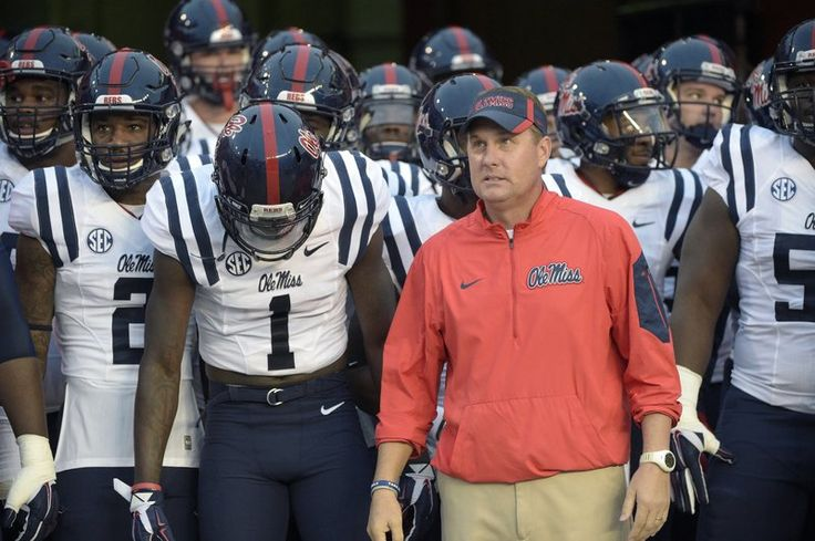 """Mississippi football coach Hugh Freeze resigned Thursday after university officials found a """"pattern of personal misconduct"""" that started with the school's investigation into a call to"""