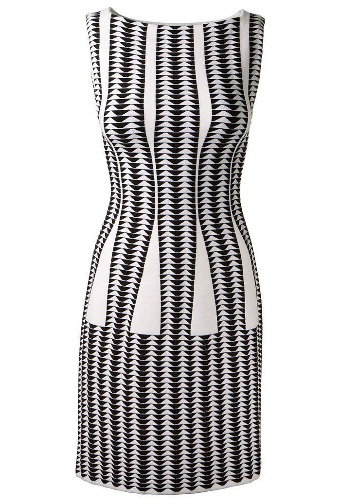 Soothing images black and white dress