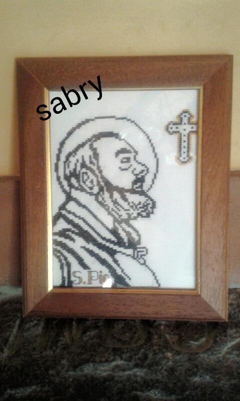 quadro S.Pio