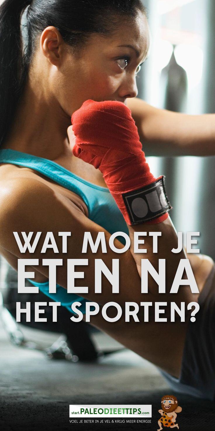 Het is best normaal dat je wat wil eten na het sporten. Of je nu bent gaan hardlopen, hebt geklommen, terug bent van yoga of de spinning, je lichaam is uitgeput en moet worden hersteld.  http://www.paleodieettips.com/eten-na-het-sporten/