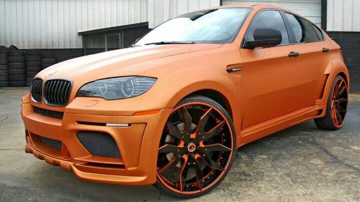 Bmw X6 M Orange Dream Cars Pinterest Bmw X6 Orange